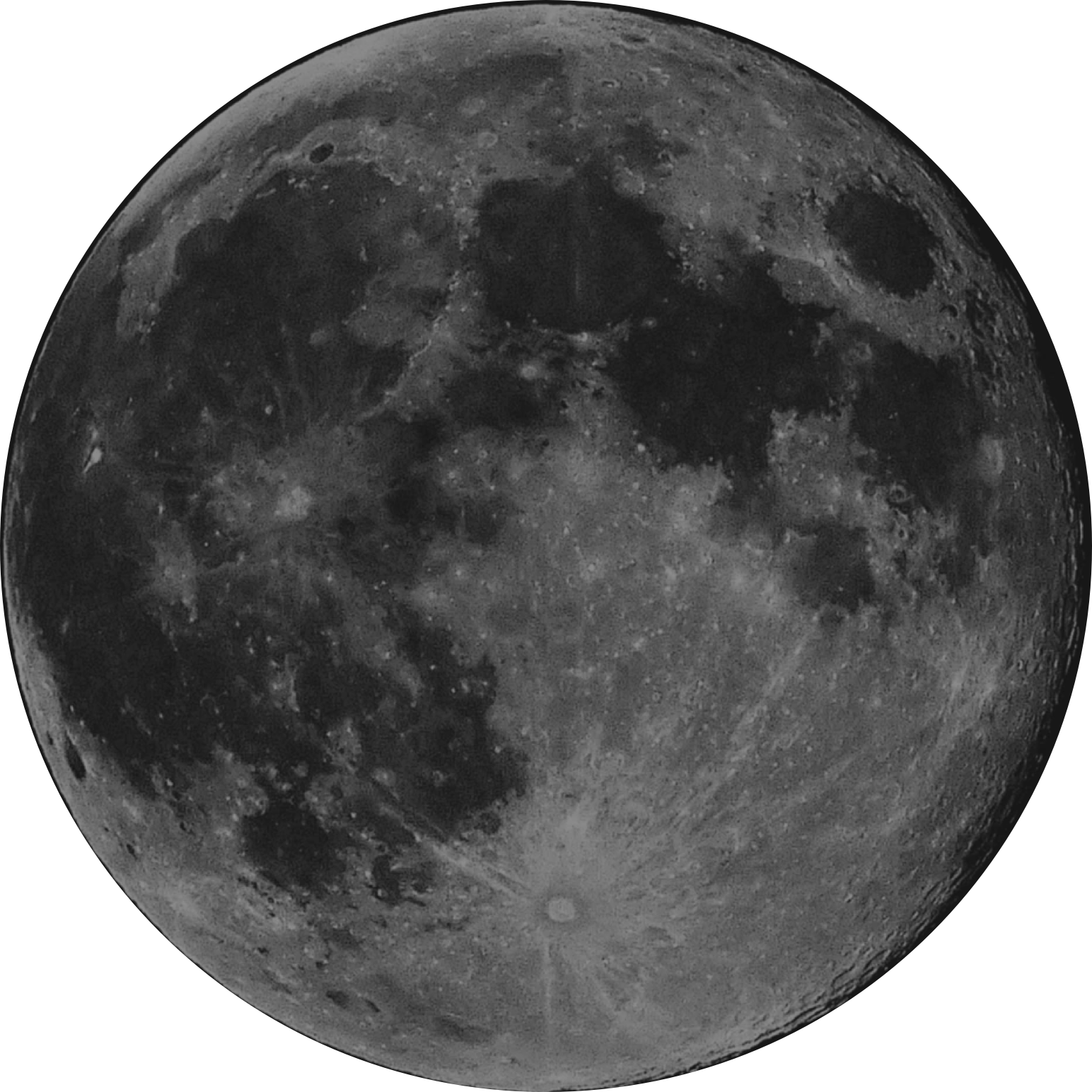 picture of the moon.